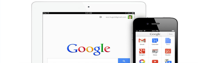 google apps for ios and android platforms