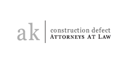 logo for construction defect law firm in California
